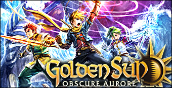Golden Sun : Obscure Aurore test ds