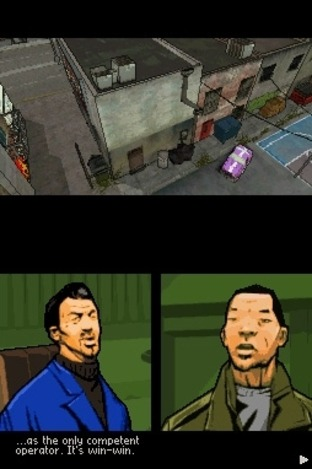 Grand Theft Auto : Chinatown Wars DS - Screenshot 45