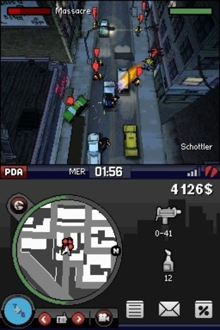 Test Grand Theft Auto : Chinatown Wars Nintendo DS - Screenshot 70