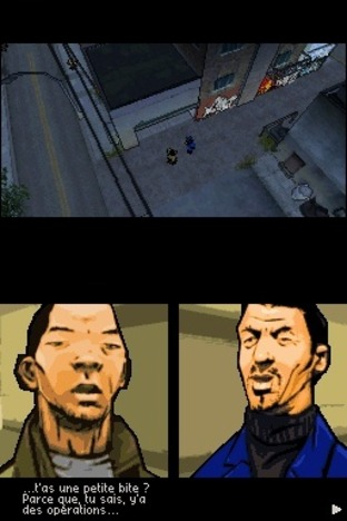 Test Grand Theft Auto : Chinatown Wars Nintendo DS - Screenshot 72
