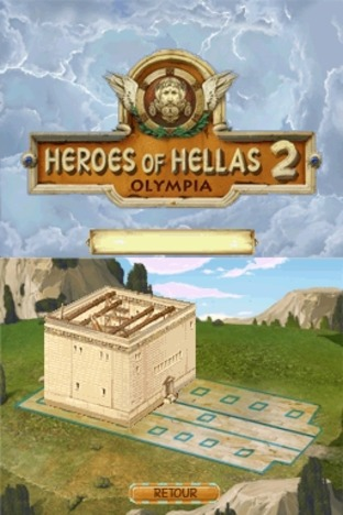 Fiche complète Heroes of Hellas 2 : Olympia - Nintendo DS