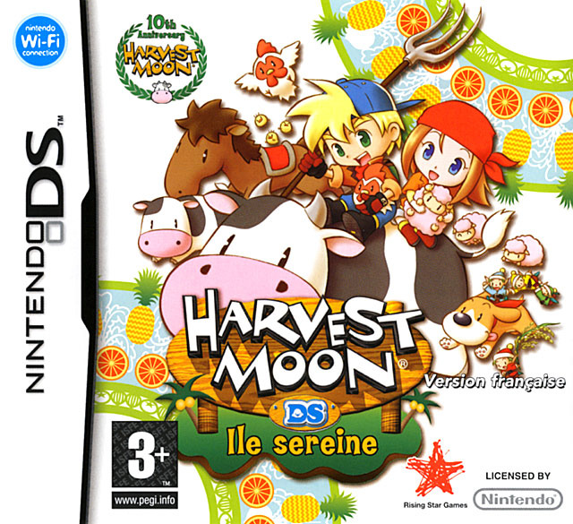 Harvest Moon DS Island of Happiness Demzz23 NDS NTSC ( Net) preview 0