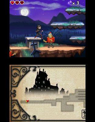 Test Hotel Transylvanie Nintendo DS - Screenshot 5