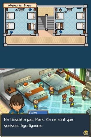 Test Inazuma Eleven 2 : Tempête de Feu Nintendo DS - Screenshot 126