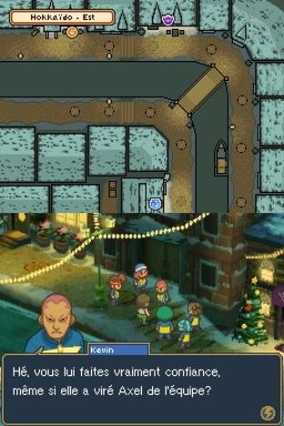 Test Inazuma Eleven 2 : Tempête de Glace Nintendo DS - Screenshot 126