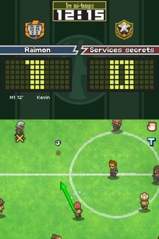 Test Inazuma Eleven 2 : Tempête de Glace Nintendo DS - Screenshot 127
