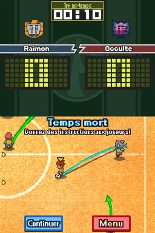Inazuma Eleven Nintendo DS