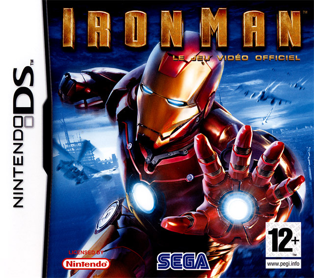 iron man sur nintendo ds. Black Bedroom Furniture Sets. Home Design Ideas