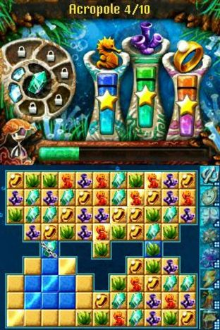 Test Jewel Link : Legends of Atlantis Nintendo DS - Screenshot 1
