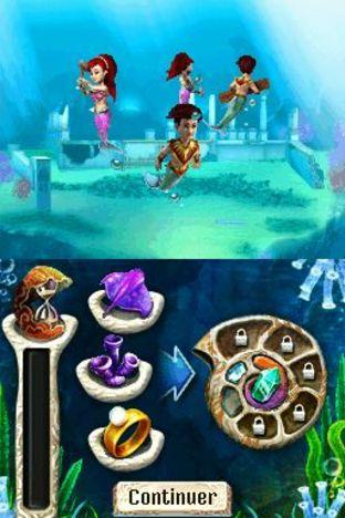 Test Jewel Link : Legends of Atlantis Nintendo DS - Screenshot 2