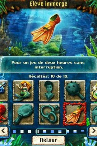 Test Jewel Link : Legends of Atlantis Nintendo DS - Screenshot 8