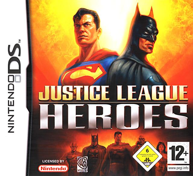 Heros de la Ligue des Justiciers DS
