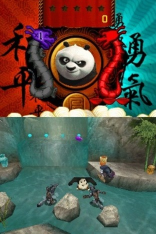 Test Kung Fu Panda : Guerriers Légendaires Nintendo DS - Screenshot 5