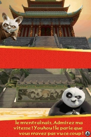 Test Kung Fu Panda : Guerriers Légendaires Nintendo DS - Screenshot 6
