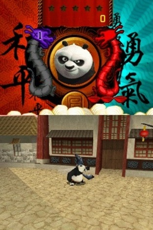 Test Kung Fu Panda : Guerriers Légendaires Nintendo DS - Screenshot 7