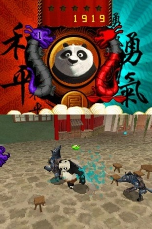 Test Kung Fu Panda : Guerriers Légendaires Nintendo DS - Screenshot 8