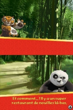 Test Kung Fu Panda : Guerriers Légendaires Nintendo DS - Screenshot 10
