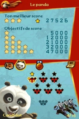 Test Kung Fu Panda : Guerriers Légendaires Nintendo DS - Screenshot 11