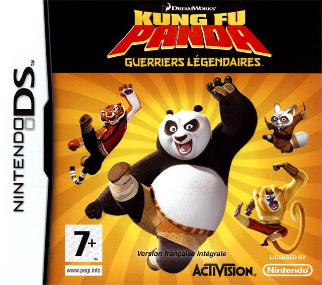 Kung Fu Panda : Guerriers Légendaires DS