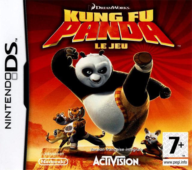 kung fu panda le jeu sur nintendo ds. Black Bedroom Furniture Sets. Home Design Ideas