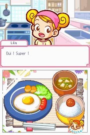 Test du jeu lea passion cuisine sur ds for Cuisine ds