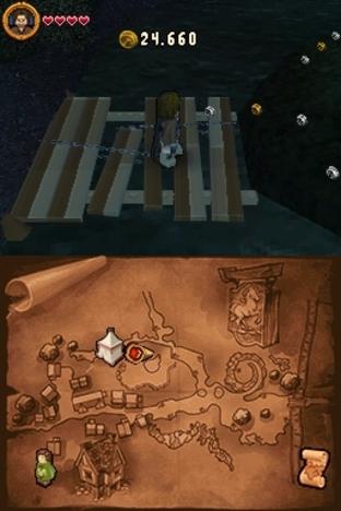 Test Lego Le Seigneur des Anneaux Nintendo DS - Screenshot 6
