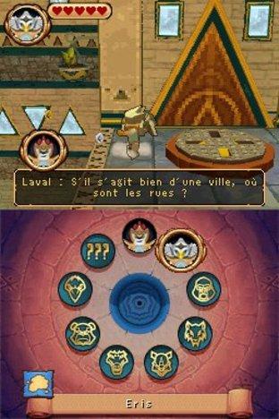 Test LEGO Legends of Chima : Le Voyage de Laval Nintendo DS