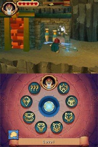 Images LEGO Legends of Chima : Le Voyage de Laval Nintendo DS - 12