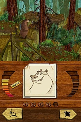 Test Les Rebelles De La Foret Nintendo DS - Screenshot 1