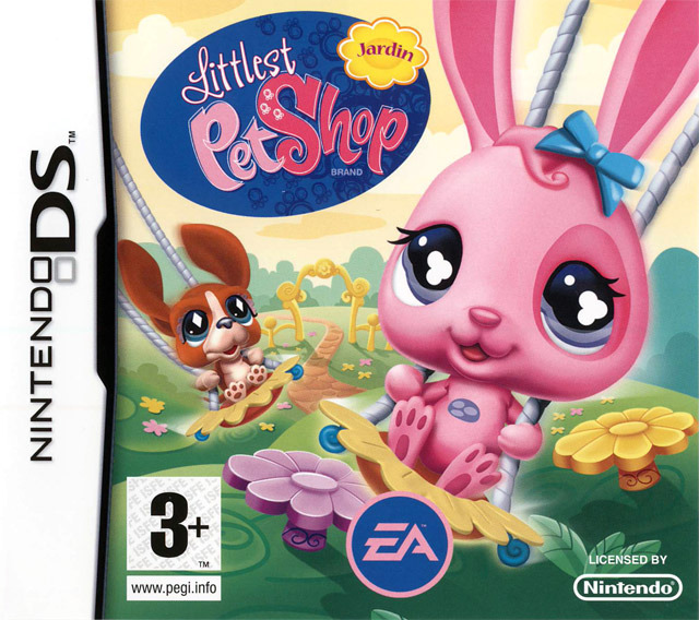 littlest pet shop jardin sur nintendo ds. Black Bedroom Furniture Sets. Home Design Ideas