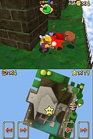 Test Super Mario 64 DS Nintendo DS - Screenshot 30