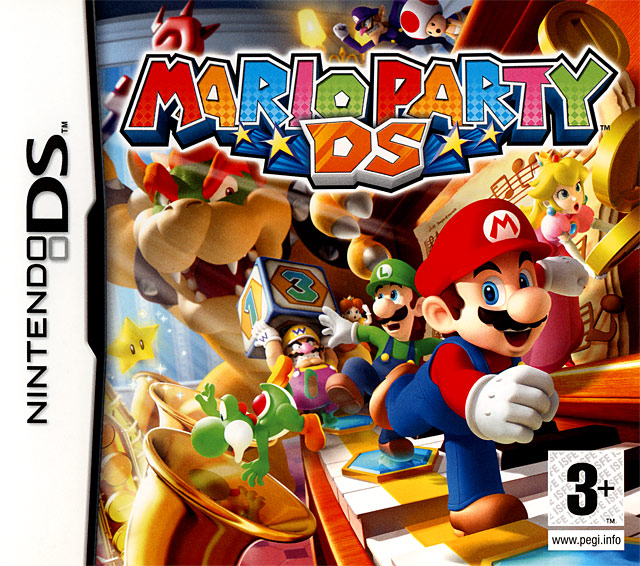 mario party ds sur nintendo ds. Black Bedroom Furniture Sets. Home Design Ideas