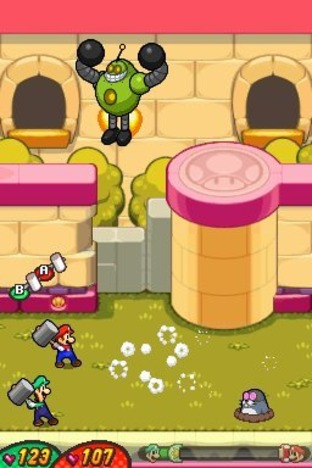 Test Mario & Luigi : Voyage au Centre de Bowser Nintendo DS - Screenshot 292
