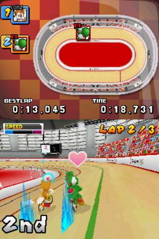 Test Mario & Sonic Aux Jeux Olympiques Nintendo DS - Screenshot 8