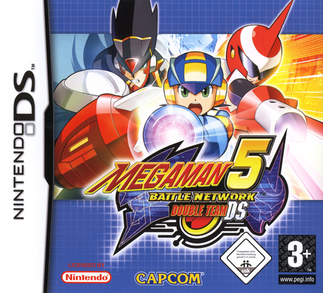 Megaman battle network 5 double team ds