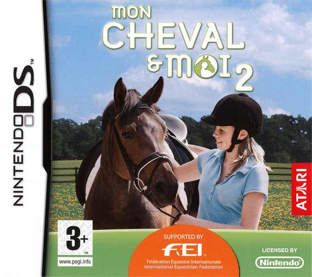 mon cheval et moi 2 sur nintendo ds. Black Bedroom Furniture Sets. Home Design Ideas