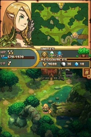 Aperçu Might & Magic : Clash of heroes Nintendo DS - Screenshot 5