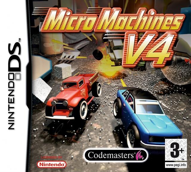 Micro Machines V4 (E) [HF]