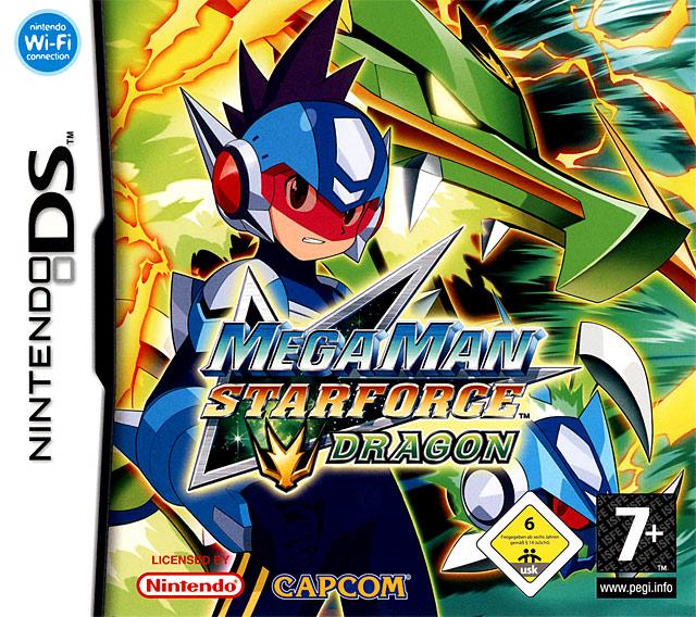 Mega Man Star Force Dragon روعة والحجم خيالي Mmsfds0f