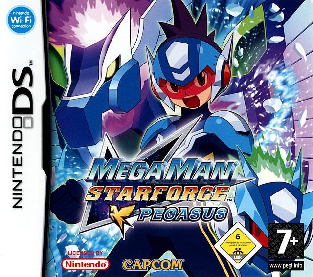 Mega Man Star Force Pegasus Mmspds0f