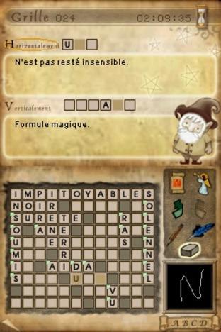 Mots Croisés Nintendo DS