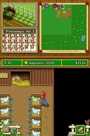 Test Ma Vie à la Ferme Nintendo DS - Screenshot 2