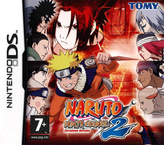 Naruto Ninja council European version Nar3ds0f