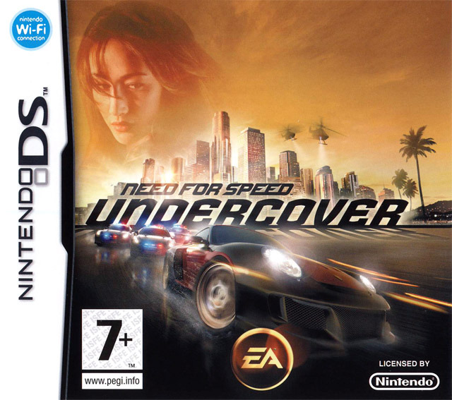 need for speed undercover sur nintendo ds. Black Bedroom Furniture Sets. Home Design Ideas