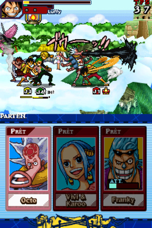 One Piece : Gigant Battle Nintendo DS