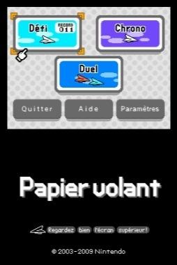 Papier Volant