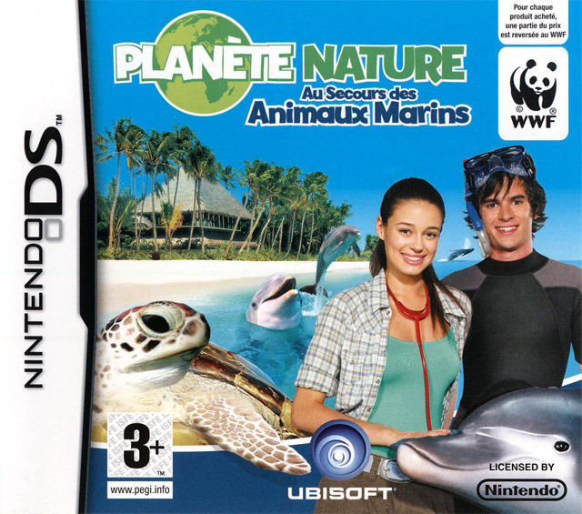 Planète Nature : Au Secours des Animaux Marins Nintendo DS - 1 (-1