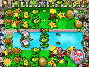 Images de Plantes contre Zombies sur DS