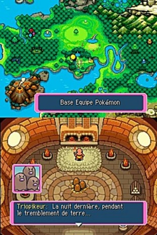 Test Pokemon Donjon Mystere : Equipe De Secours Bleue Nintendo DS - Screenshot 47