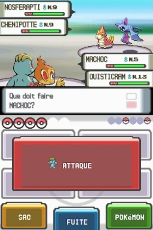 Test Pokemon Diamant Nintendo DS - Screenshot 12